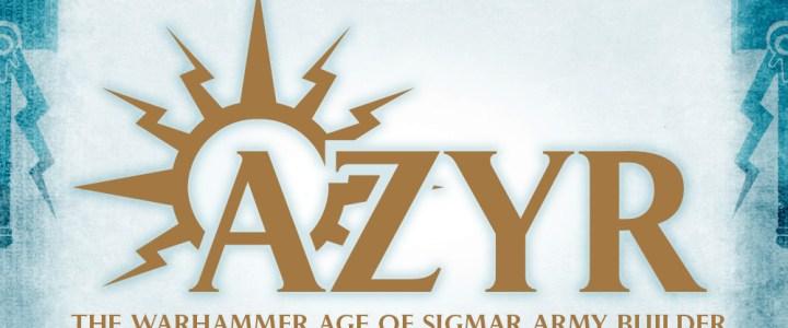 Azyr Army Builder released