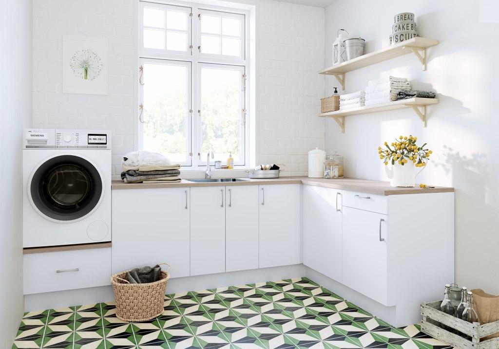 Vakkert vaskerom fra Linn Bad
