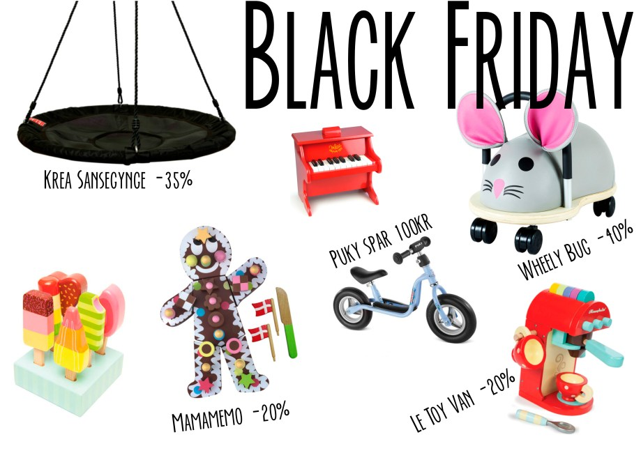 Black Friday – Barnets Verden