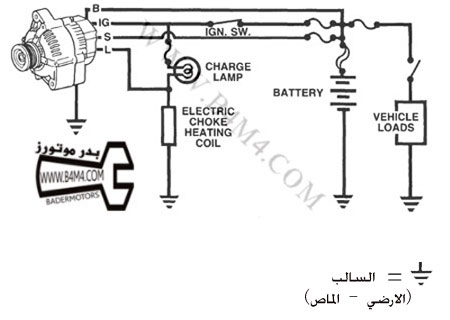 Alternator Exciter Wire Diagram, Alternator, Free Engine