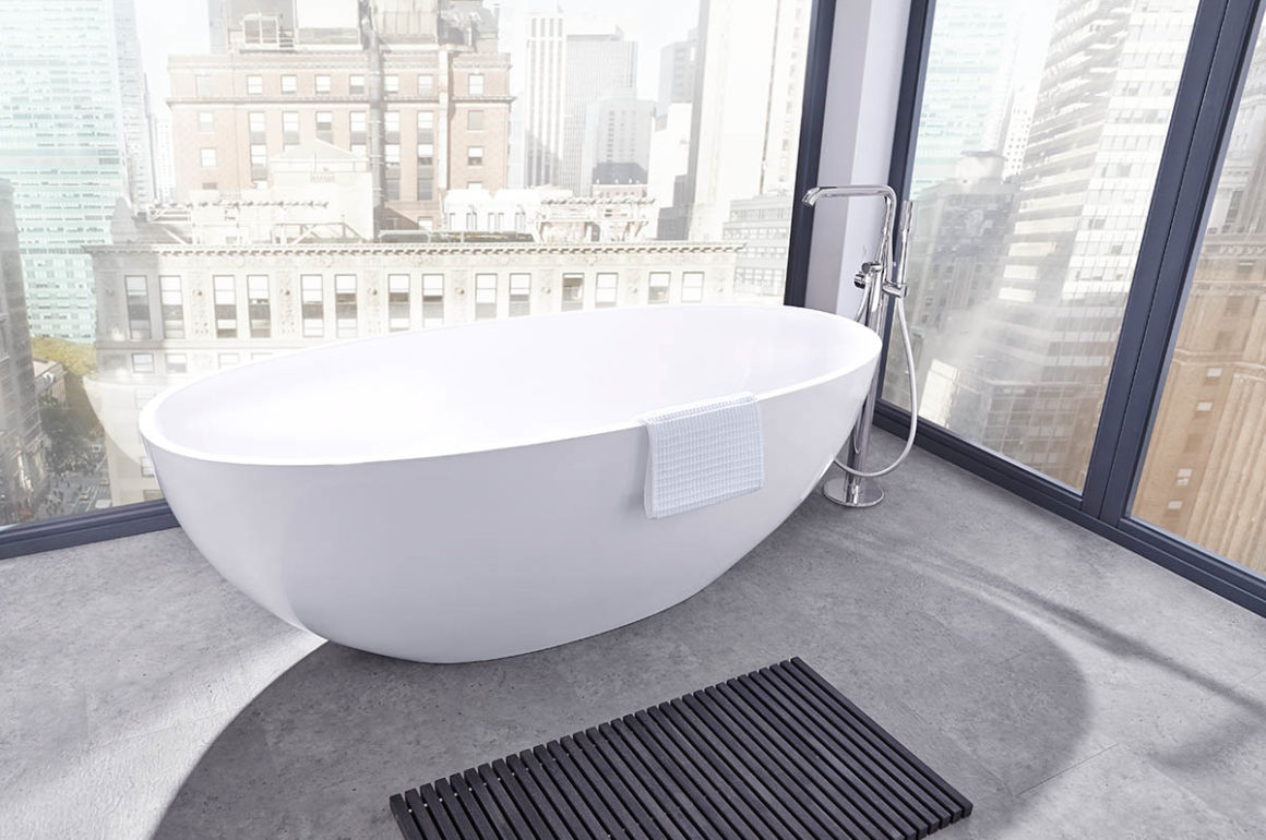 Freistehende Badewanne Erfahrungen Rollos Für Dachfenster Haus
