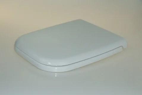 WC Sitz mit Absenkautomatik und Eckig Form / Soft-Close - WC Sitz Shop