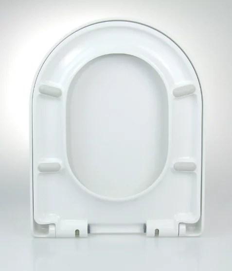 WC Sitz mit Absenkautomatik und D-Form / Soft-Close - WC Sitz Shop