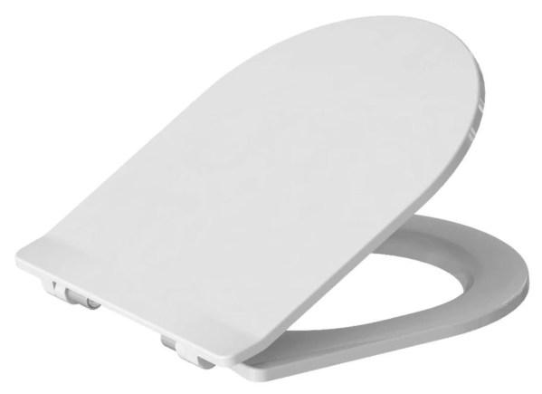 WC Sitz mit Absenkautomatik und D Form / Soft-Close Clivia Style VIGOUR - WC Sitz Shop