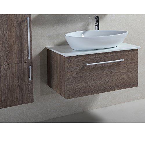 Waschtischunterschrank Mit Aufsatzwaschbecken waschtischunterschrank bruce mit