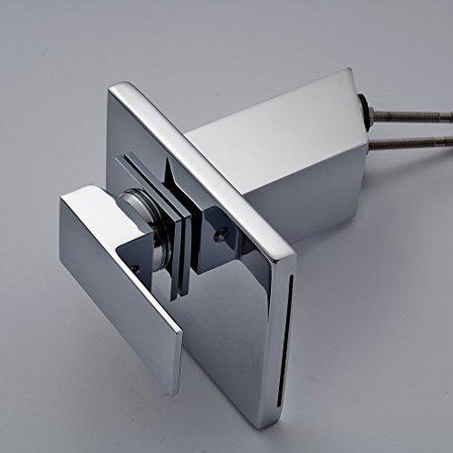 Auralum Armatur Aus Messing und Glas Wasserhahn Waschtisch Sple Waschtischarmatur fr Bad