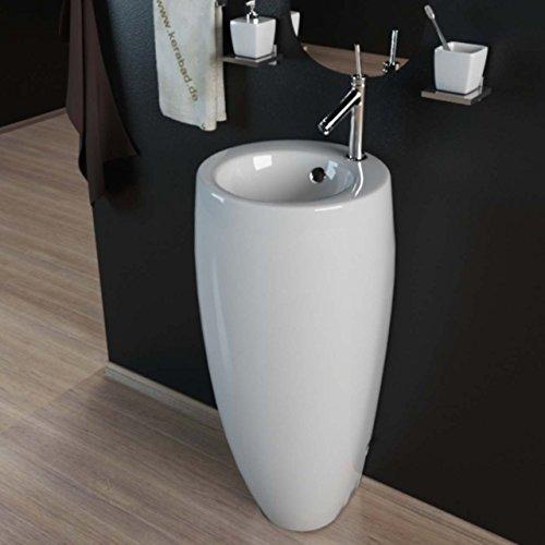 Design Keramik Standwaschbecken Waschtisch Waschsule