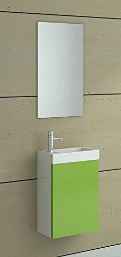 WC Waschbecken Set Aarau in grn Bad Bder und Badausstattung JetLine  Badezimmer1de