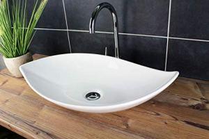 Design Waschbecken Aufsatzwaschbecken 66,5 x 40 cm ...