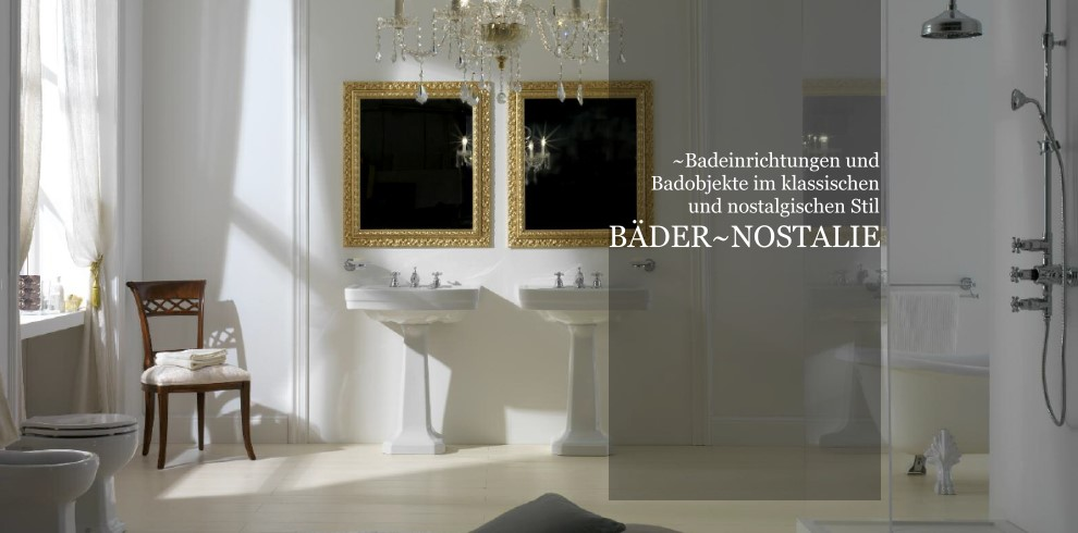 Bder und Badobjekte im klassischnostalgischen Stil  Designbder aus Italien und Spanien