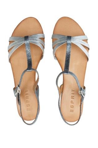 Sandalettes grises