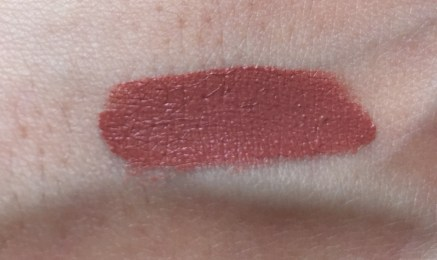 Swatch NARS lip cover Overheated