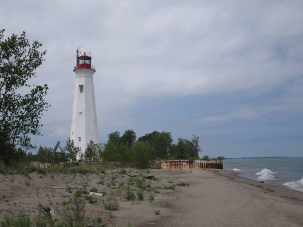 The Long Point lighthouse