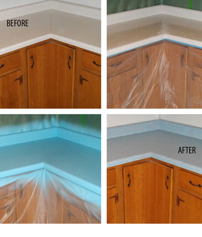 Badger Bath Reglazing Countertop Refinishing