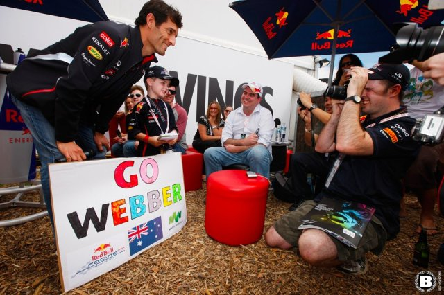 during the Australian Formula One Grand Prix at the Albert Park circuit on March 18, 2012 in Melbourne, Australia.