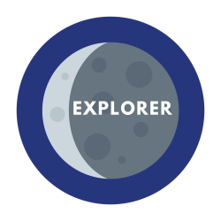 moon badge research