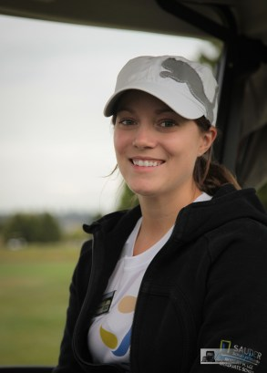 GI Society Board member and 2012 Golf Marathon Chairperson, Jennifer Lowther