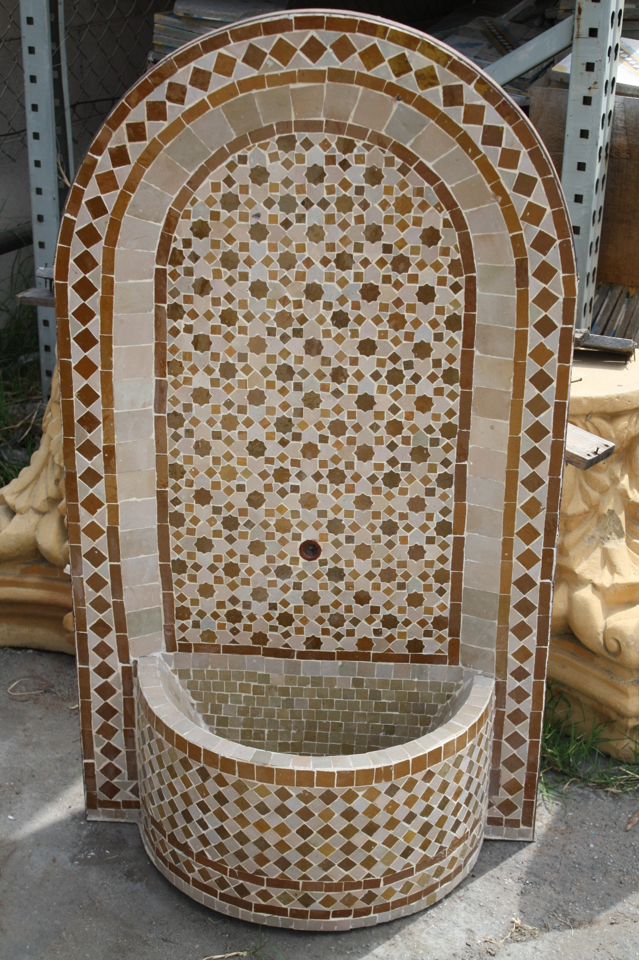 Moroccan Mosaic Tile Fountains  Moroccan Furniture Los