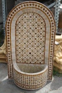 Moroccan Mosaic Tile Fountains Furniture Los