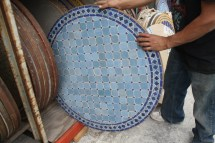 Decorative Mosaic Tile Table Moroccan Furniture