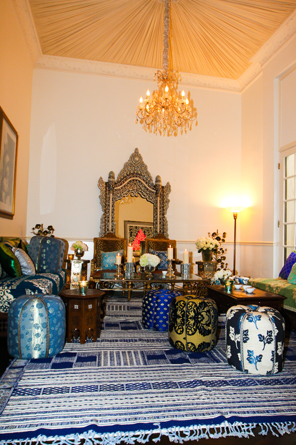 Moroccan Inspired Living Room Decor