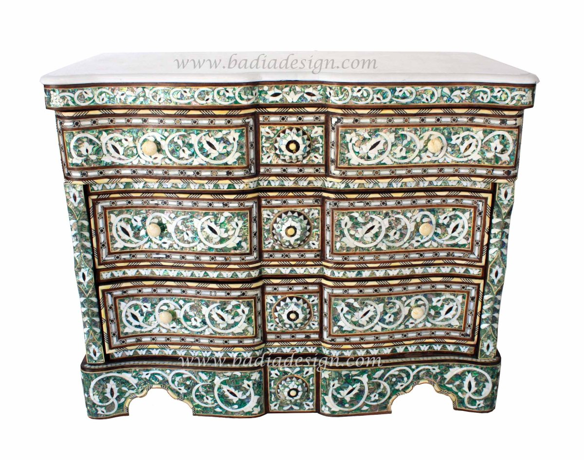 High End Syrian Furniture Moroccan Furniture Los Angeles