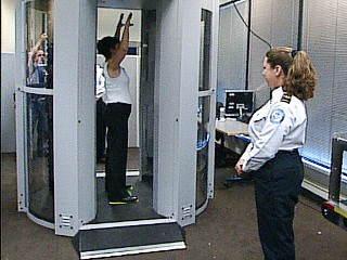 Millimeter wave full body scanner