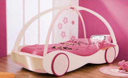 lit de princesse pour petite fille
