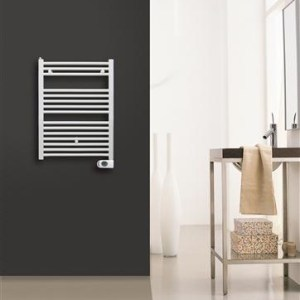 Solar Plus Elektrische handdoekradiator wit 1500 x 500 700 Watt