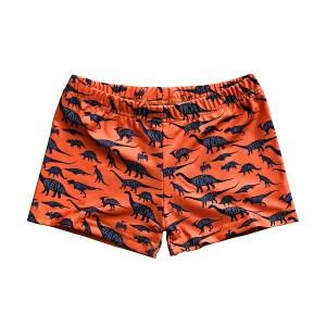Slipstop dinosaurus zwembroek jongens oranje maat 122