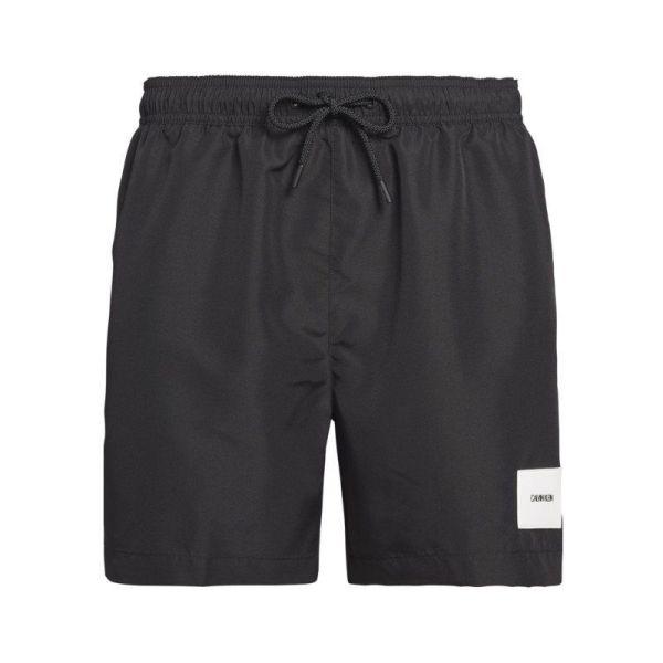 Calvin Klein heren zwembroek Drawstring - Solid zwart