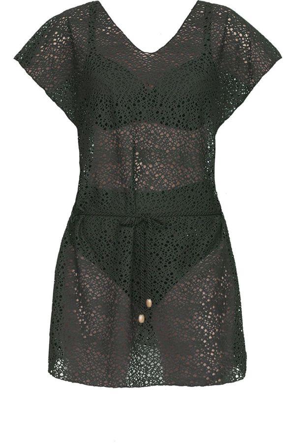 Nuria Ferrer Jurk Palmira Dress voor dames - DonkerGroen - Maten: S, M, L - Nieuwe Collectie