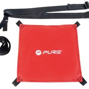 Pure2Improve Swim weerstandsparachute zwemmen rood one size