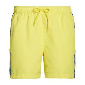 Calvin Klein heren zwembroek - geel/taped