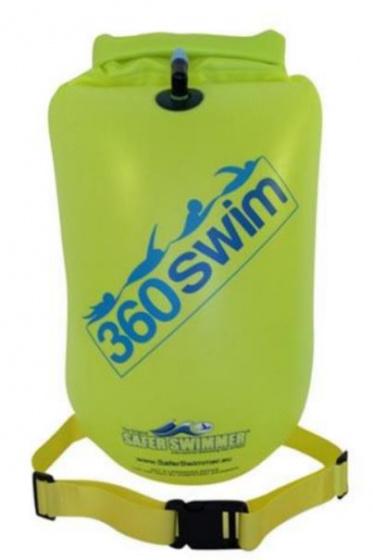 SaferSwimmer™ zwemboei Heavy Duty 64 x 30 cm groen large