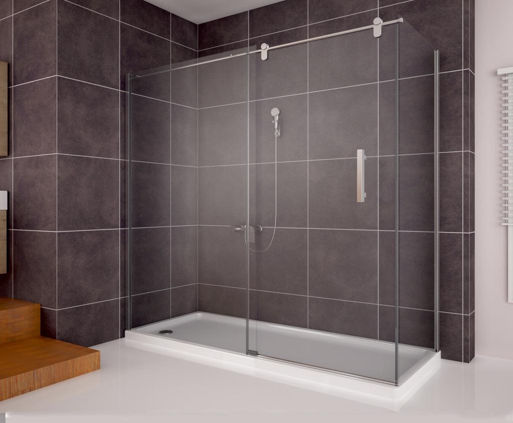 dusche plexiglas wandverkleidung bad acryl. Black Bedroom Furniture Sets. Home Design Ideas