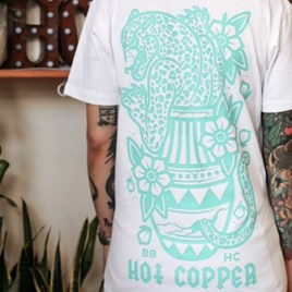 Hot Copper | Teal | Unisex Tee