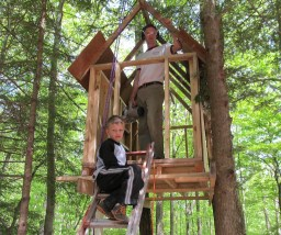 New treehouse