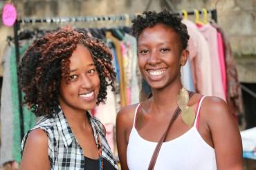 Lisa Macharia and Njeri Gachuhi