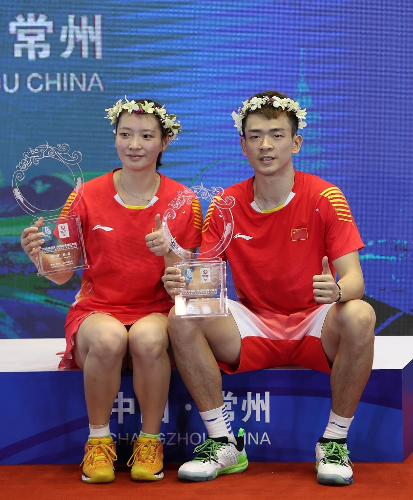 Huang Yaqiong and Zheng Siwei, China