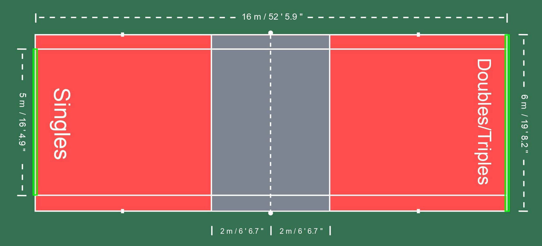 How Do I Set Up an AirBadminton Court?