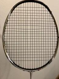 Wide Gap in Badminton Strings