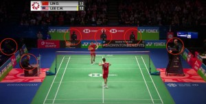 Where Do Badminton Officials Sit?