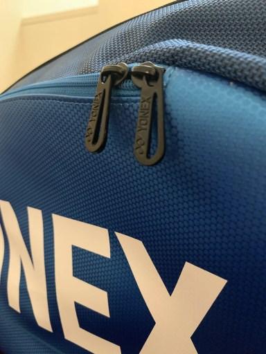 Yonex Pro Racquet Bag (9PCS) - Zipper Tags.