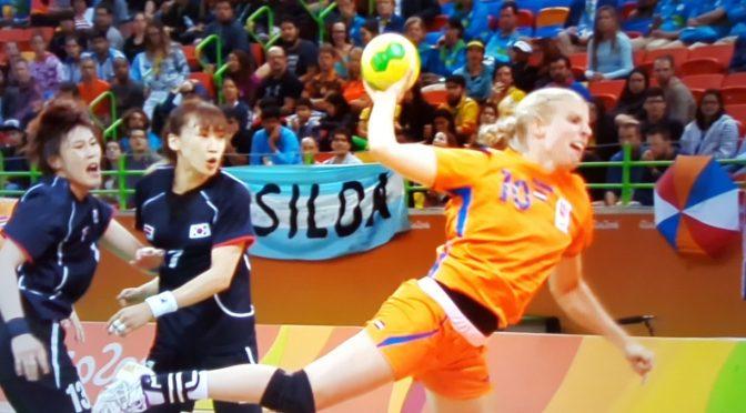 Handbaldames spelen gelijk tegen Zuid-Korea 32-32