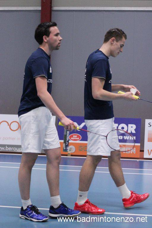 Mark Caljouw en Thomas Wijers