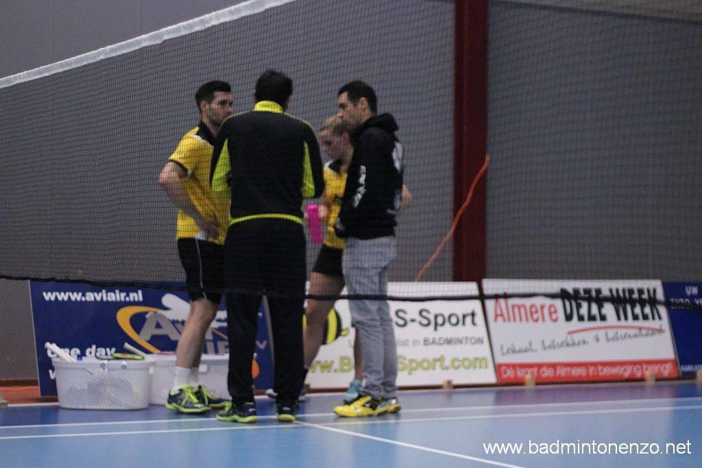 Jelle Maas, Dave Khodabux, Tamara van der Hoeven en Erik Staats