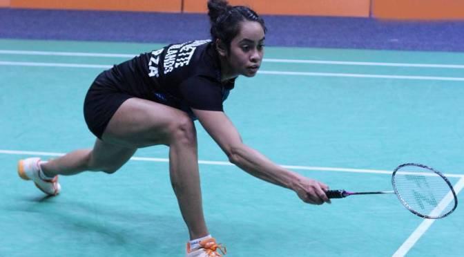 Winst voor Gayle Mahulette op Kharkiv International  @gmahulette #badminton