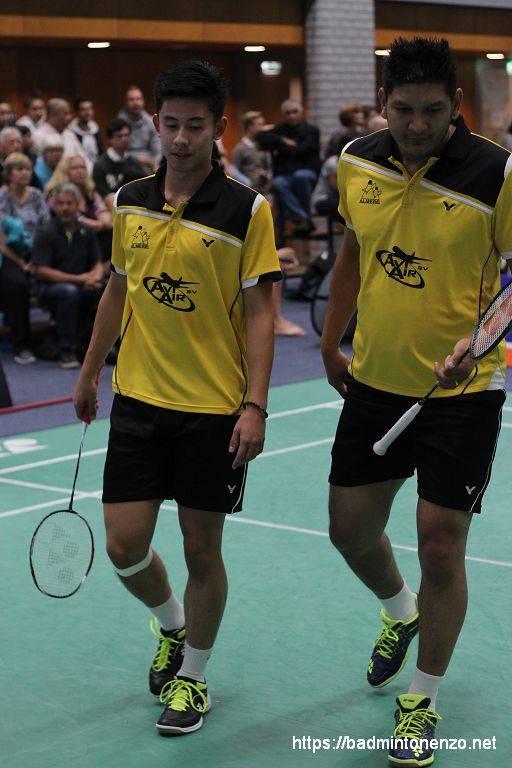 Sebastiaan Li en Dave Khodabux
