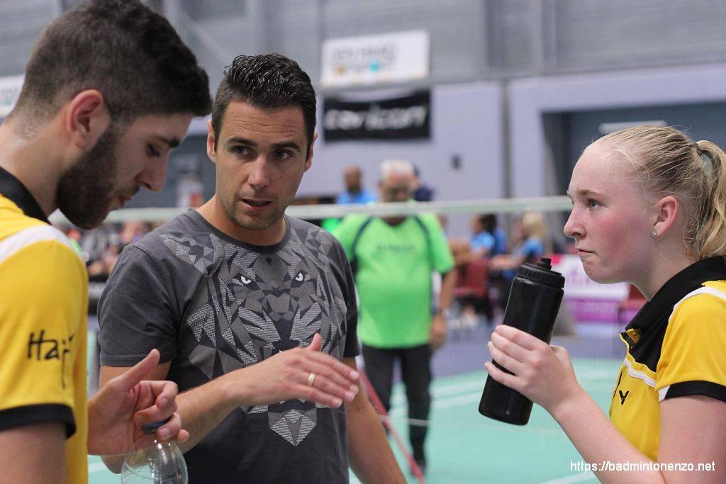 Aram Mahmoud, Erik Staats en Kirsten de Wit